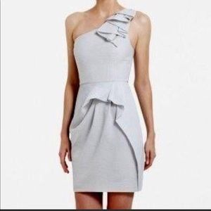 BCBG ONE-SHOULDER AUDREY DRESS - SZ. 10